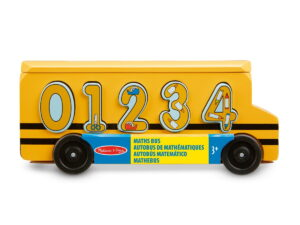 Melissa and Doug Number Matching Maths Bus-0