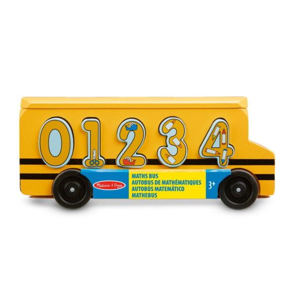 Melissa and Doug Number Matching Maths Bus-0