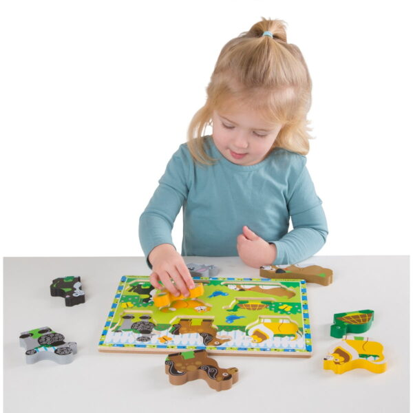 Melissa and Doug Pets Chunky Puzzle-4525