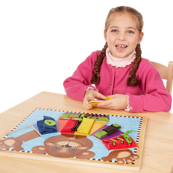 Melissa and Doug Basic Skills Board-4546