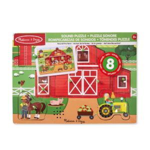 Melissa and Doug Around The Farm Puzzle-0