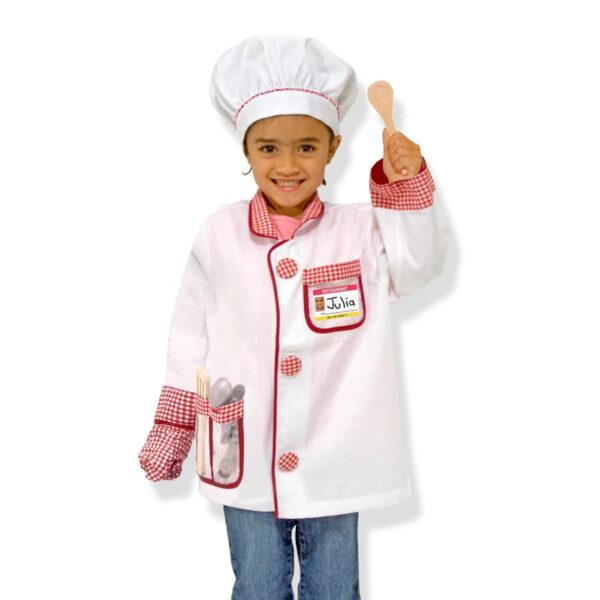 Melissa and Doug Chef Role Play Set-4636