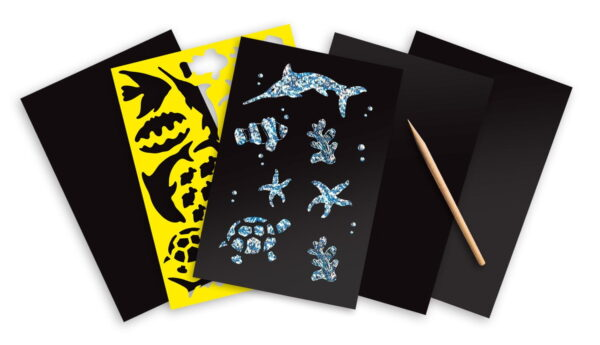 Melissa and Doug Scratch Art Sheets Sea Life