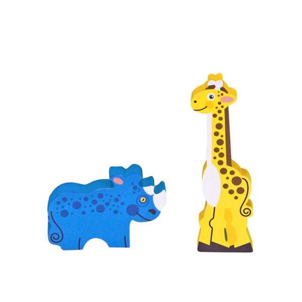 Melissa and Doug Chunky Puzzle Safari-4391