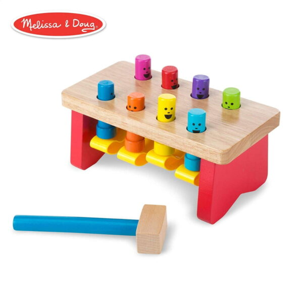 Melissa and Doug Deluxe Pounding Bench-4612