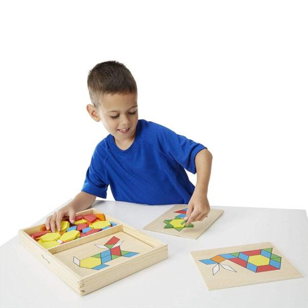 Melissa and Doug Pattern Blocks & Boards-4291
