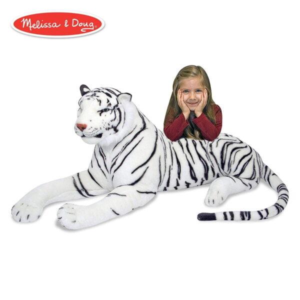 Melissa and Doug White Tiger Plush -4567