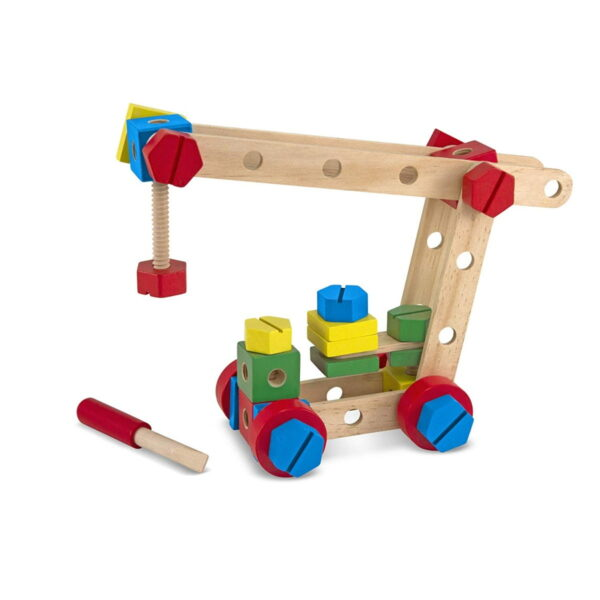 Melissa and Doug Construction Set in a Box-4665