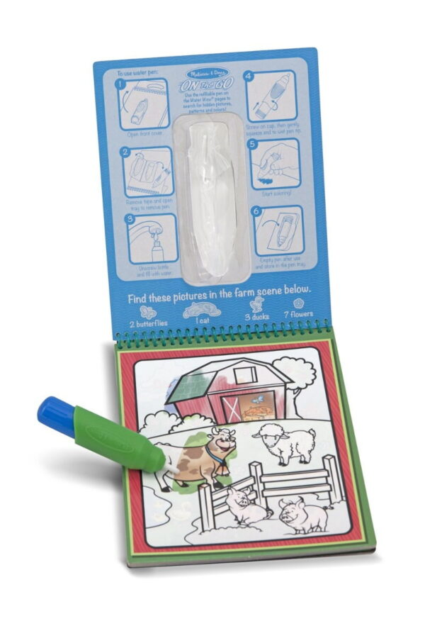 Melissa and Doug Water Reveal Pad Colours Shape-4275