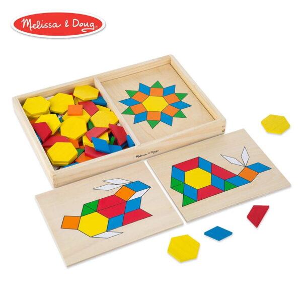 Melissa and Doug Pattern Blocks & Boards-4289