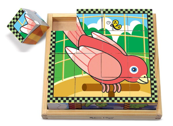 Melissa and Doug Pets Cube Puzzle-4535