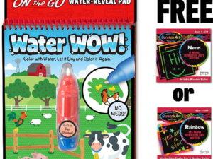 Melissa and Doug Water Reveal Pad Farm