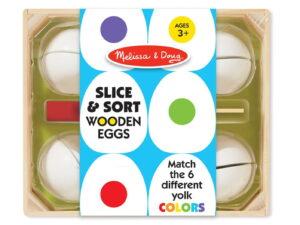 Melissa and Doug Slice & Sort Wooden Eggs