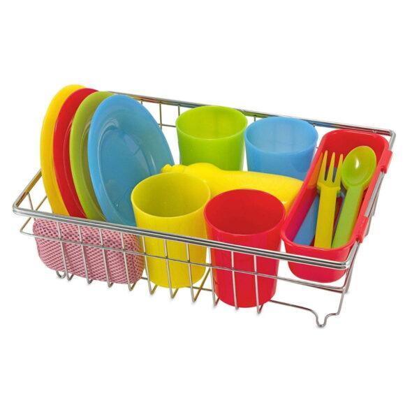 Melissa and Doug Wash & Dry Dish Set-4598