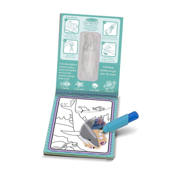 Melissa and Doug Water Reveal Pad Under The Sea-4280