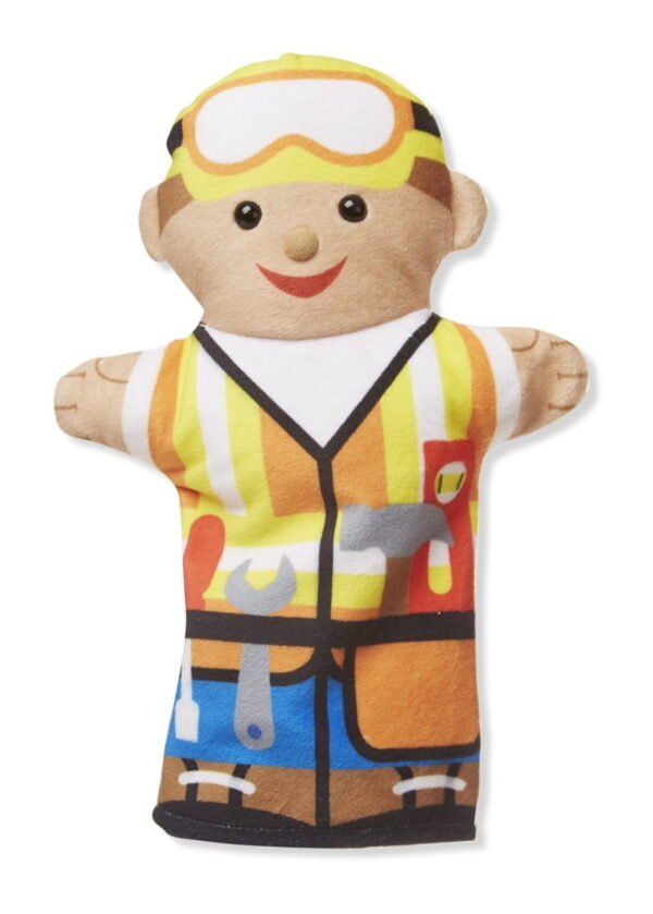 Melissa and Doug Jolly Helpers Hand Puppets-4881