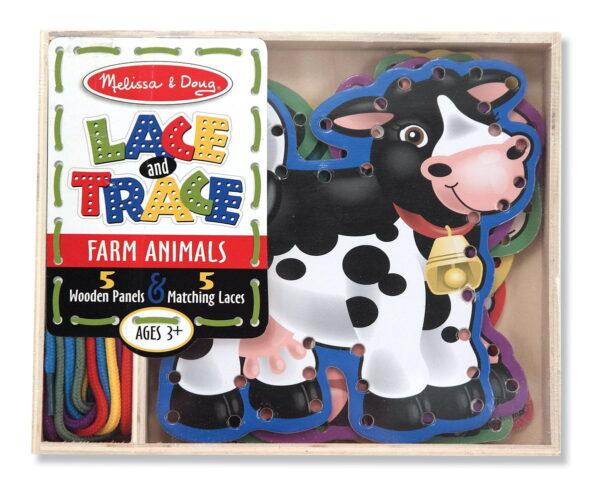 Melissa and Doug Lace & Trace Farm-4544