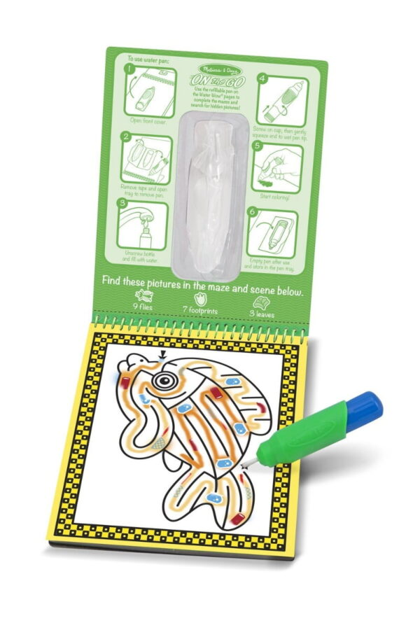 Melissa and Doug Water Wow Book Pet Mazes-4283