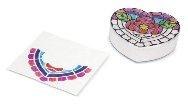 Melissa and Doug Stained Glass Heart & Rainbow-4907