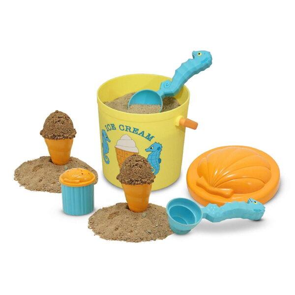 Melissa and Doug Seaside Sand Ice Cream Set-4698