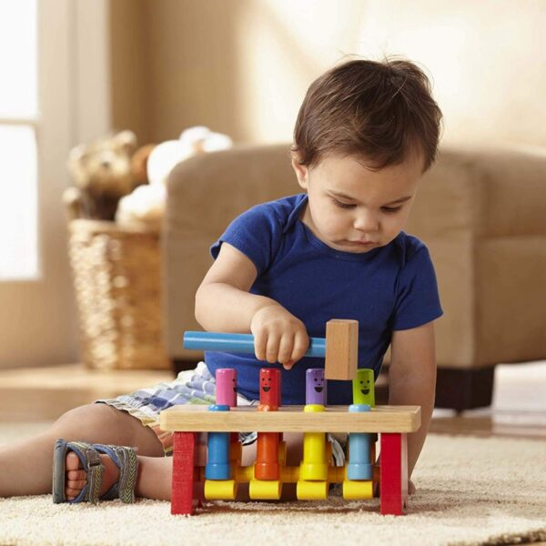 Melissa and Doug Deluxe Pounding Bench-4613