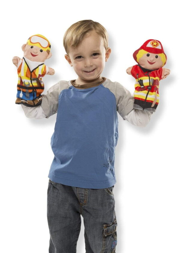 Melissa and Doug Jolly Helpers Hand Puppets-4878
