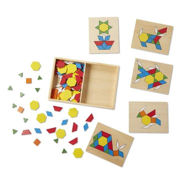 Melissa and Doug Pattern Blocks & Boards-4292