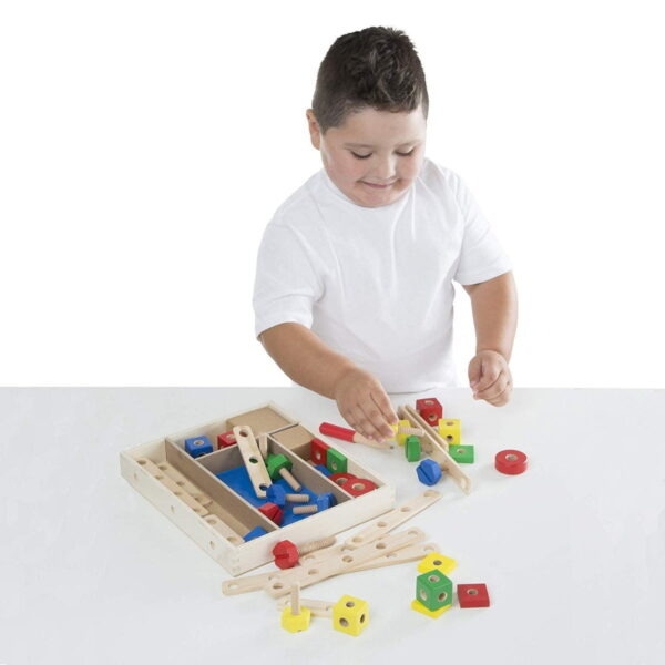 Melissa and Doug Construction Set in a Box-4663