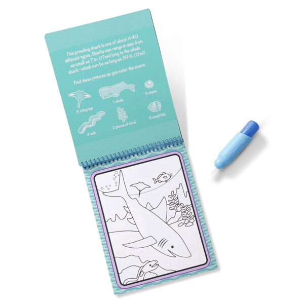 Melissa and Doug Water Reveal Pad Under The Sea-4281