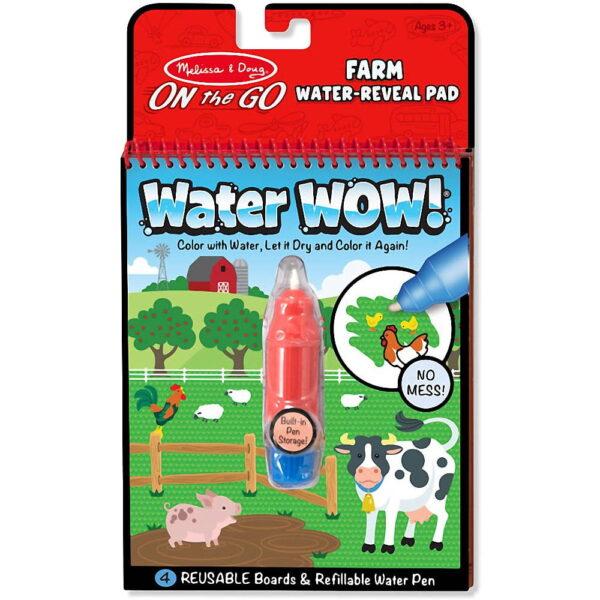 Melissa and Doug Water Reveal Pad Farm-4267