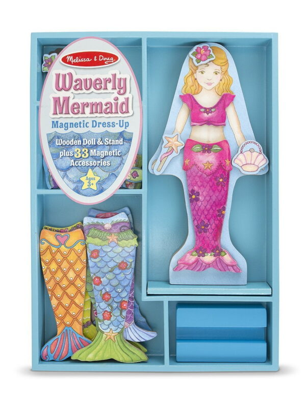 Melissa and Doug Pets Waverly Mermaid Magnetic Dress-0