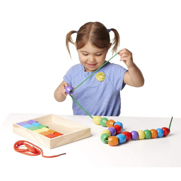 Melissa and Doug Primary Lacing Beads-4347