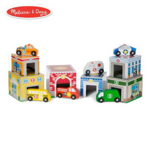 Melissa and Doug Nest Sort Building Vehicles-0