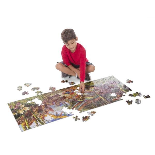 Melissa and Doug Dinosaur World Floor Puzzle-4818