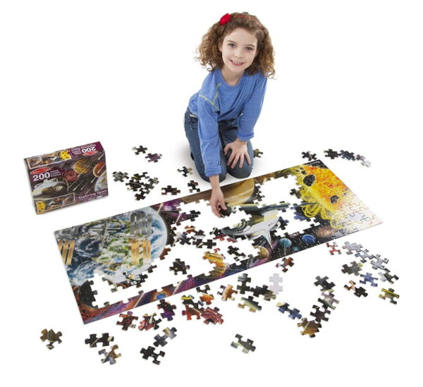 Melissa and Doug Exploring Space Floor Puzzle-4822