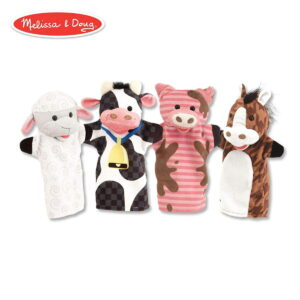 Melissa and Doug Farm Hands Animal Puppets-0
