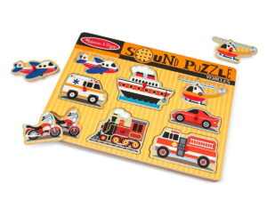 Melissa and Doug Classic Vehicles Sound Puzzle-0