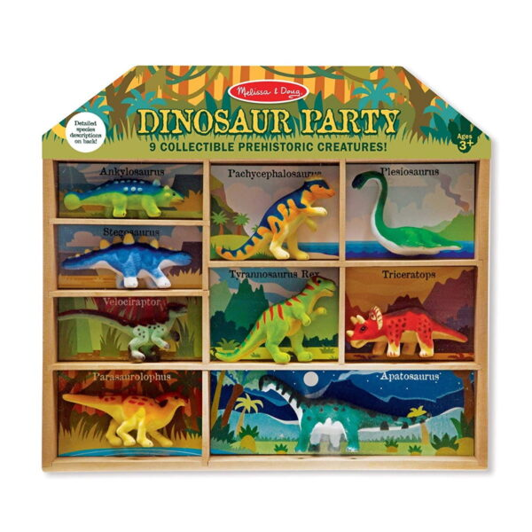 Melissa and Doug Dinosaur Party Play Set-0