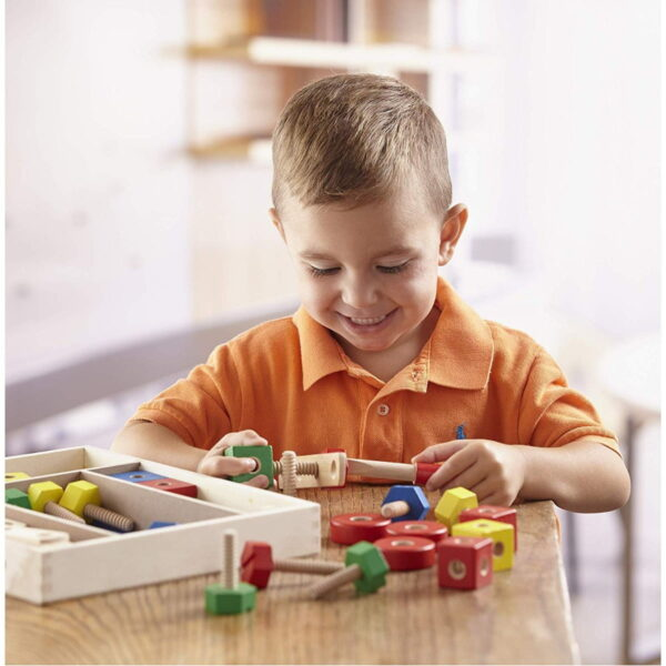 Melissa and Doug Construction Set in a Box-4662