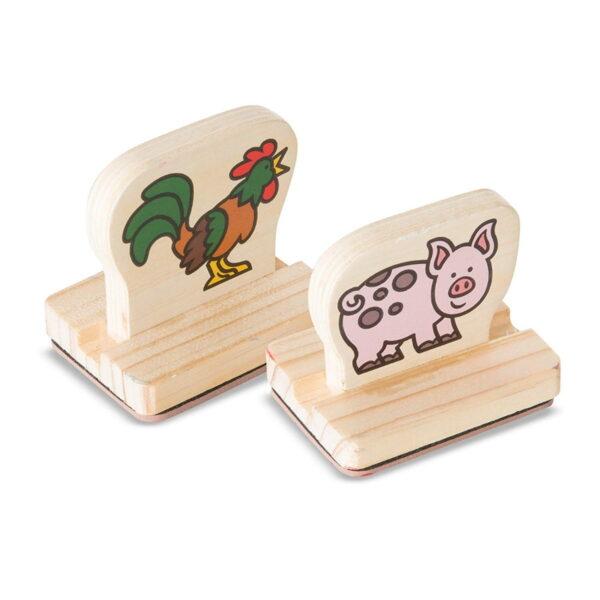 Melissa and Doug Stamp Set Farm Animal-4440