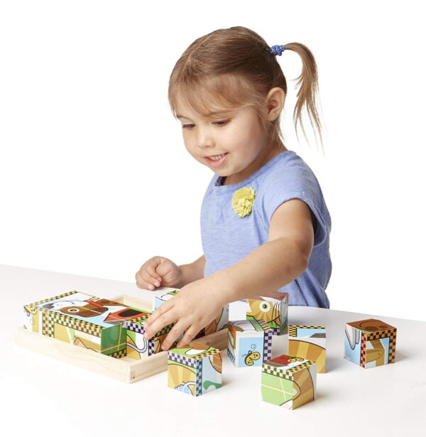 Melissa and Doug Pets Cube Puzzle-4536