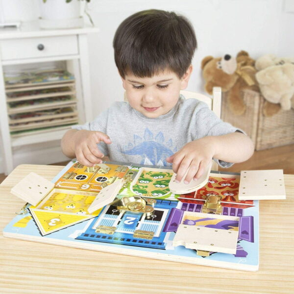 Melissa and Doug Latches Board-4552