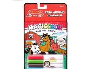 Melissa and doug Colouring Pad Farm Animals-0
