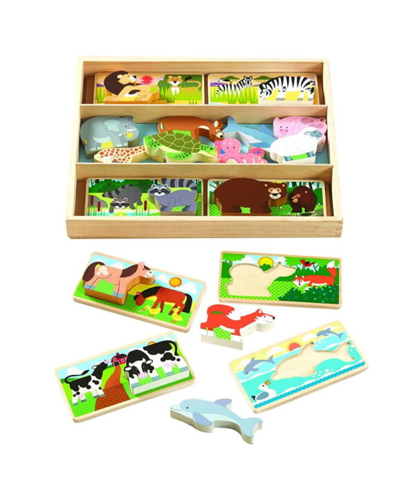 Melissa and Doug Animal Picture Board-5006