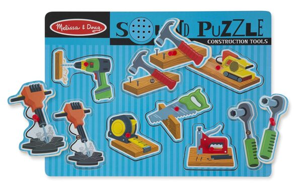 Melissa and Doug Construction Tools Puzzle-4365