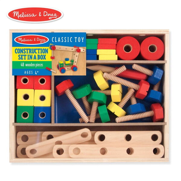 Melissa and Doug Construction Set in a Box-0