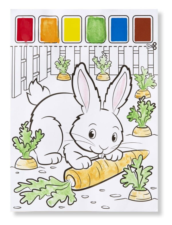 Melissa and Doug Paint With Water Animals-4932