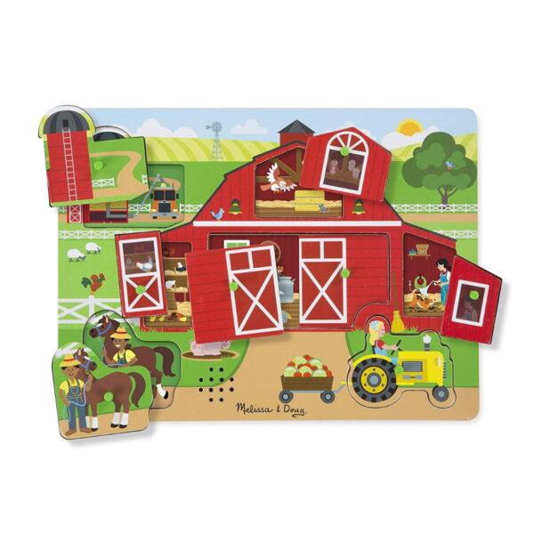 Melissa and Doug Around The Farm Puzzle-5024