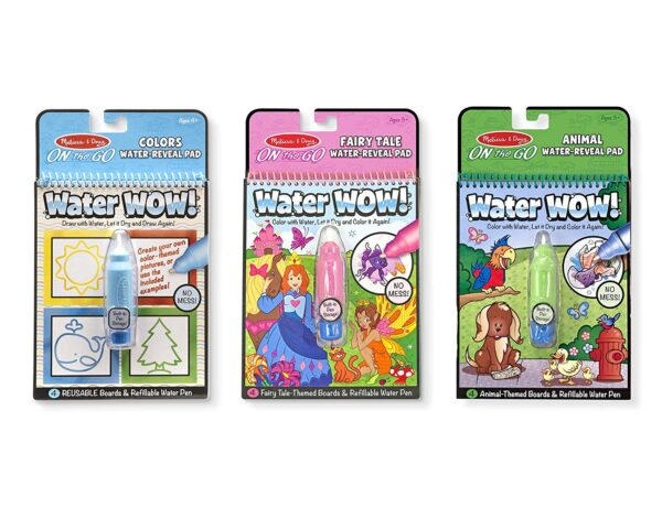 Melissa and Doug Water Reveal Pad Colours Shape-0