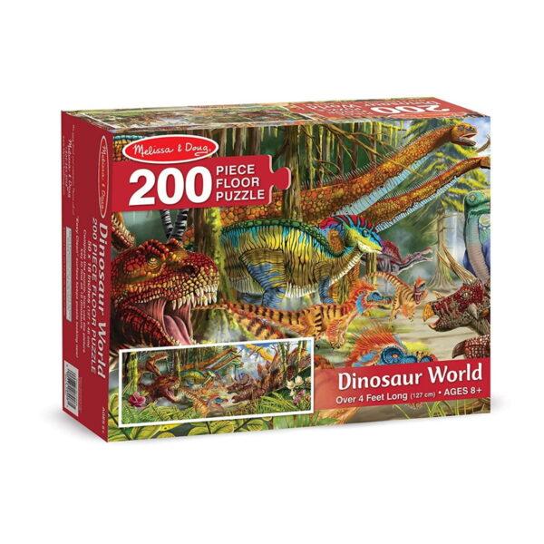 Melissa and Doug Dinosaur World Floor Puzzle-4820